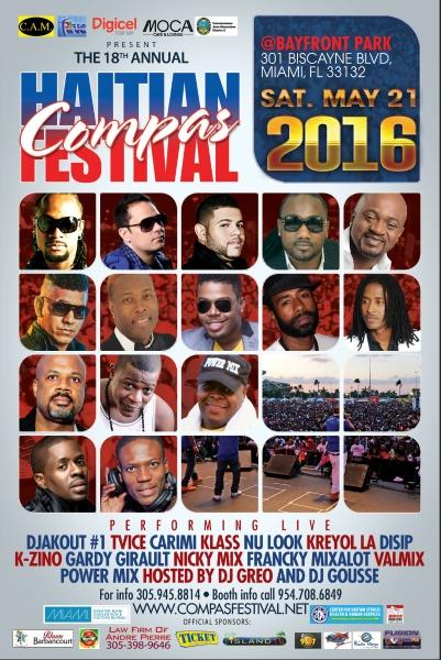 Festival Compas à Miami