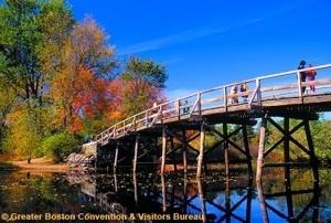 Concord Bridge Greater Boston Convention & Visitors Bureau