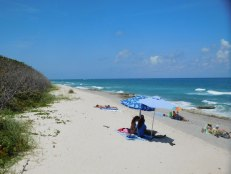 Plage de Carlin Park à Jupiter / Floride