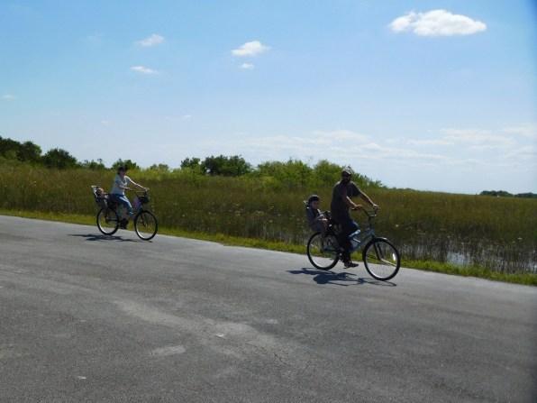 Vélo à Shark Valley / Parc National des Everglades