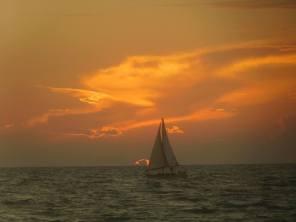 Coucher de soleil sur la Plage de Casey Key / Nokomis / Floride