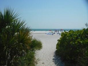 Lido Beach, sur l'île de Lido Key à Sarasota