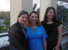 Gala Facc 2016 à Miami : Mme Létrilliart en compagnie de Me Aline Martin O'Brien et Me Isabelle Jung