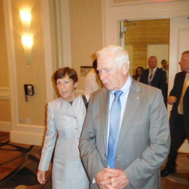 Arrivée de David Johnston, Gouverneur Général du Canada