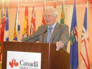 Sir David Johnston, Gouverneur Général du Canada