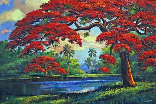 Peinture de James Gibson