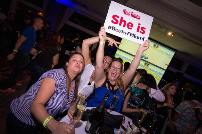 Soirée Best of du Miami New Times
