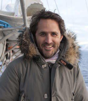 Romain Troublé, directeur de l'expédition