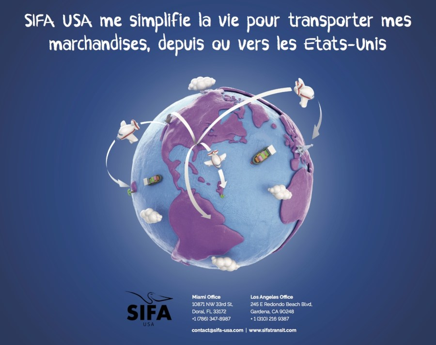 Sifa transport fret marchandises 2016-2017