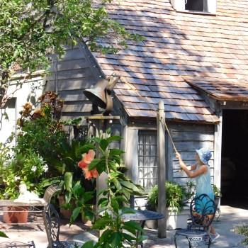 Plus vieille école en bois à St Augustine