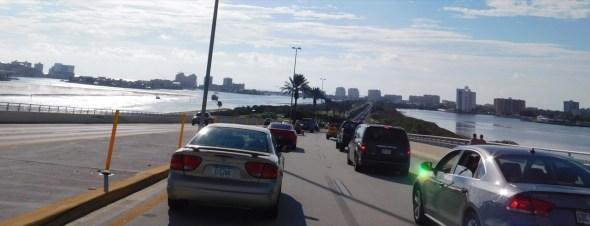Pont d'accès à Clearwater Beach / Floride