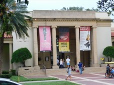 Museum of Fine Arts à St Petersburg Downtown (Floride)