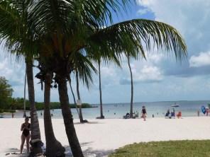 Plage de Founders Park à Islamorada / Keys de Floride