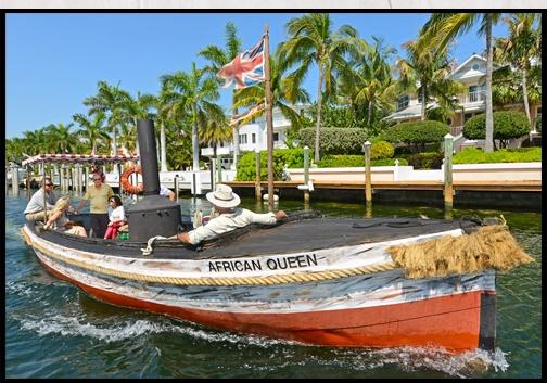 The African Queen à Key Largo
