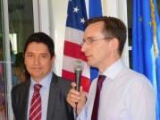 Le nouveau consul de France Clément Leclerc au petit déjeuner de Miami Accueil