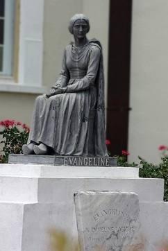 Statue d'Evangeline