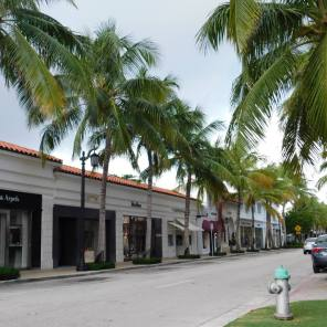 Worth Avenue sur l'île de Palm Beach