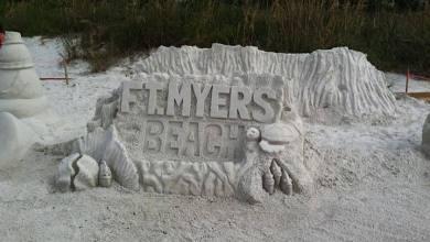 Photo of Championnats de Sculptures sur Sable de Fort Myers Beach