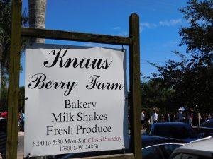 Knaus Berry Farm dans le Redland de Homestead (près de Miami en Floride)