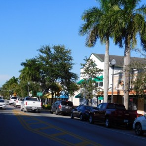 Centre ville de Homestead (près de Miami en Floride)