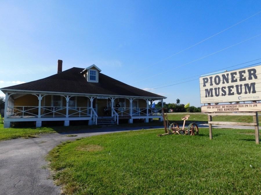 Pioneer Museum (musée des Pionniers) de Homestead (près de Miami en Floride)