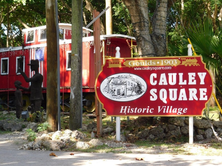 Cauley Square dans le Redland de Homestead (près de Miami en Floride)