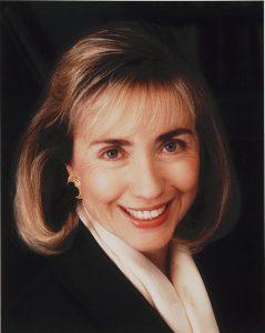 Hillary Clinton en 1992.