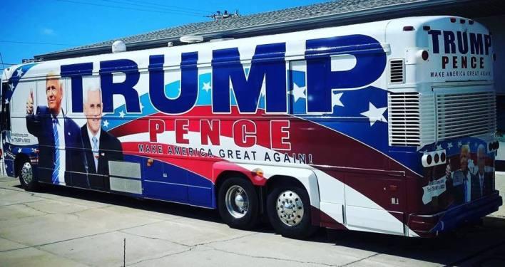 Bus de campagne de Donald Trump