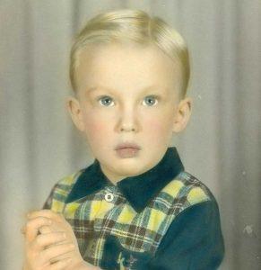Donald Trump enfant