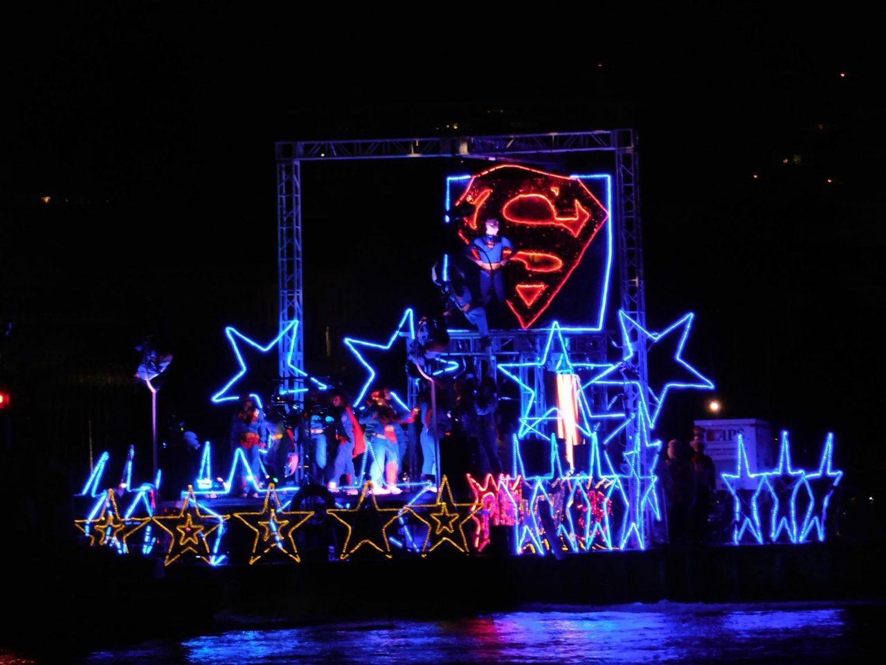 Boat Parade de Fort Lauderdale au mois de décembre.