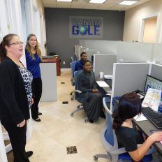 Les nouveaux bureaux de Canam Golf à Pompano Beach (Floride)