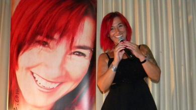 Photo of Carolyne Jomphe chantait au Club Canadien Français de Lake Worth