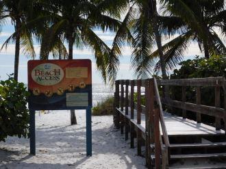 Plage de Fort Myers Beach