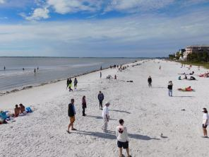 Plage de Fort Myers Beach