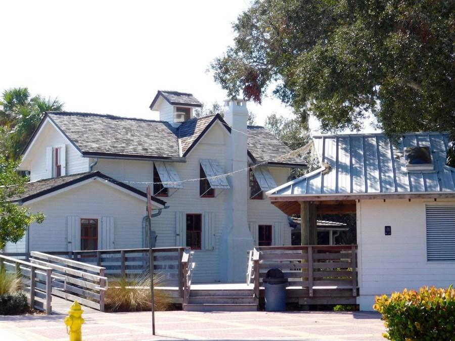 La Sewall House, construite par le capitaine Henry Sewall en 1889 au Indian RiverSide Park à Stuart en Floride