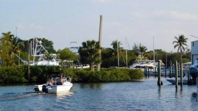 Photo of Port Salerno et sa charmante baie (près de Stuart en Floride)