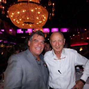 Charles Bourque, président de Canam Golf, en compagnie de Bernard Ragueneau (Thursday's Las Olas).