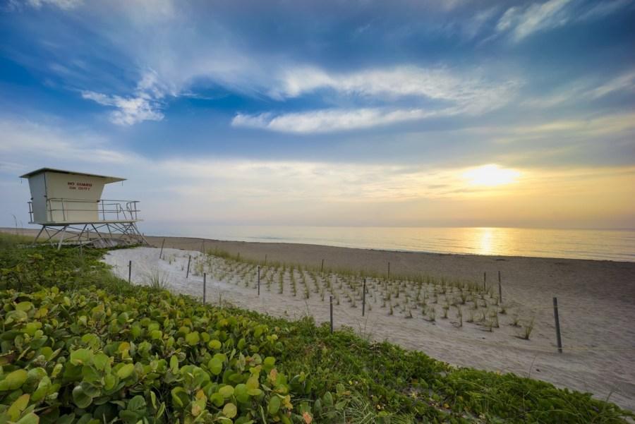 Les plages sur l'Atlantique de Jensen Beach