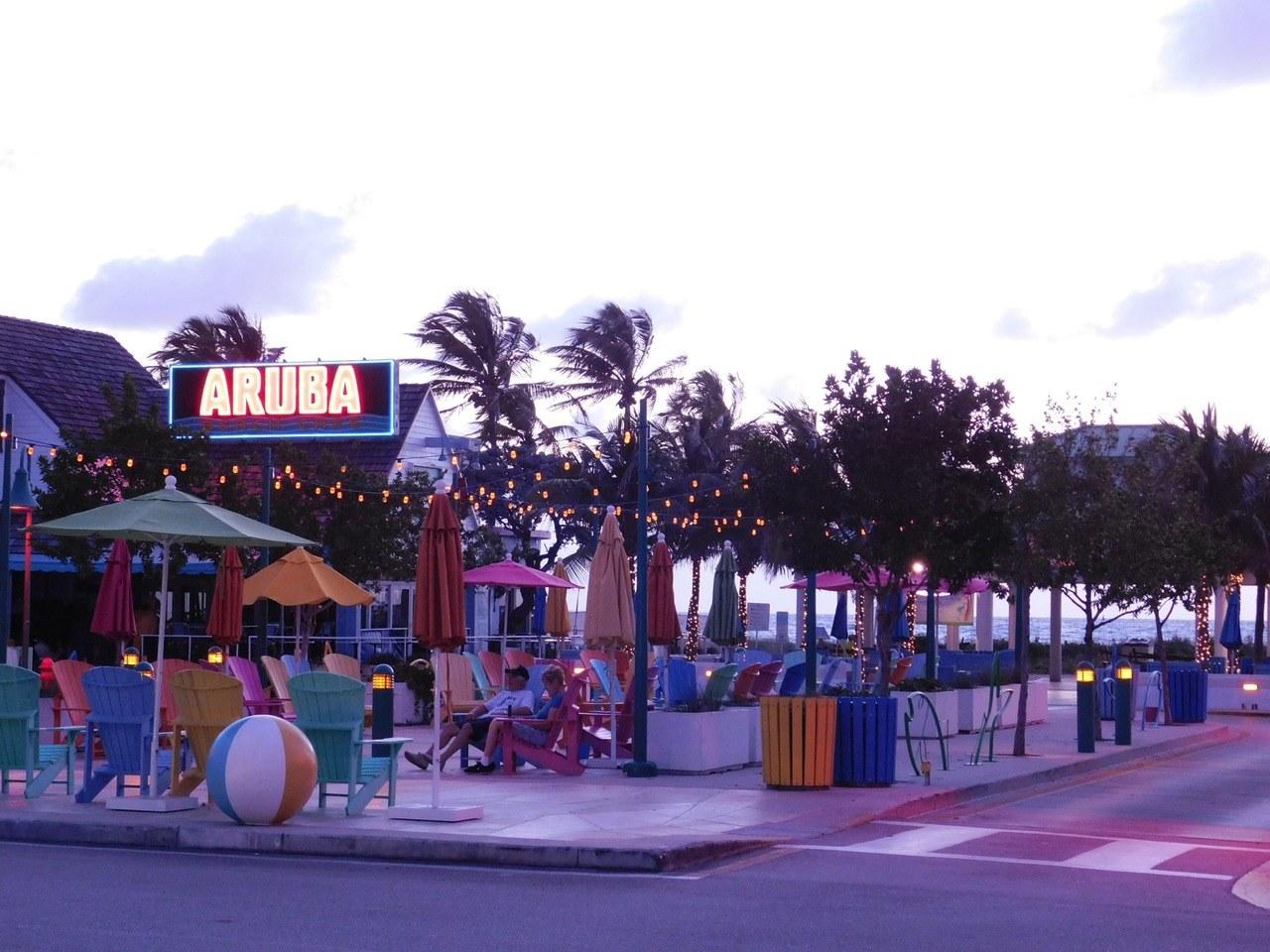 Lever de soleil à Lauderdale-by-the-Sea en Floride