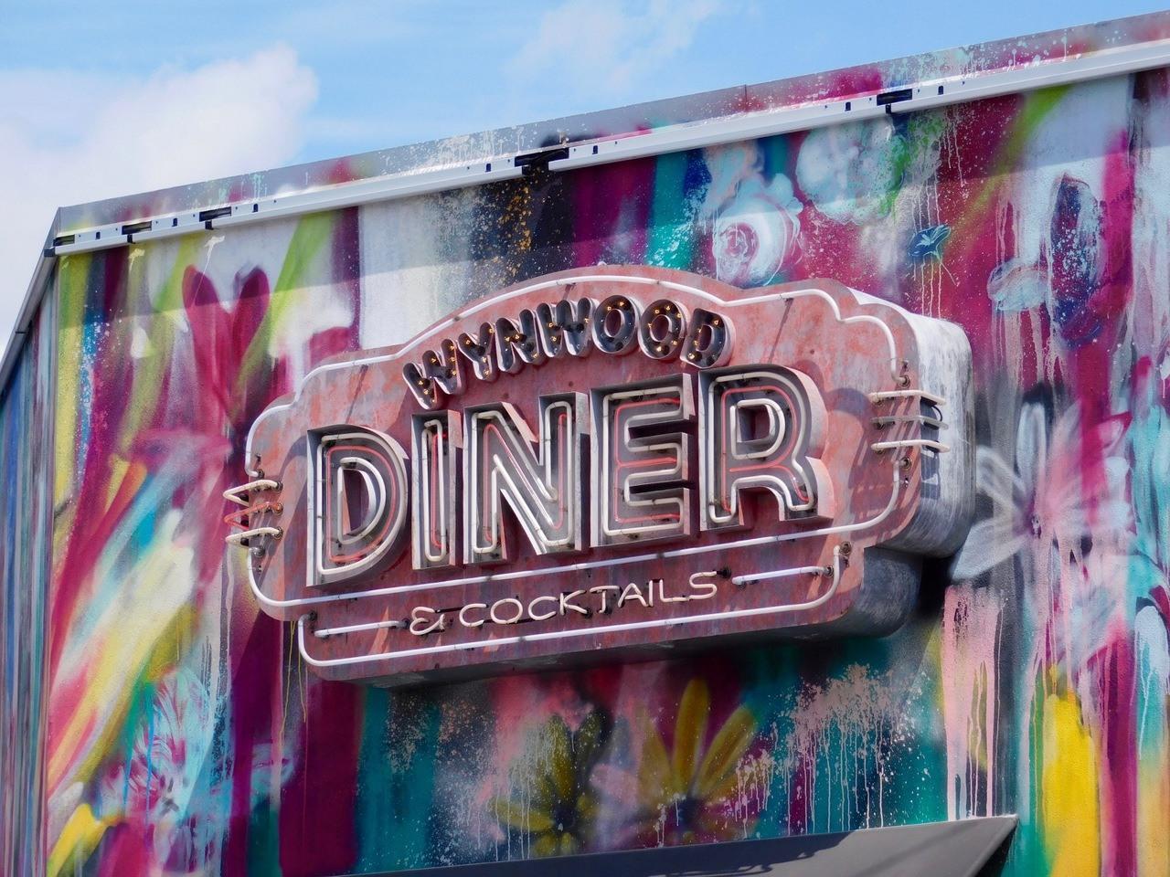 Wynwood Diner : restaurant dans le quartier de Wynwood à Miami