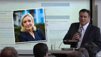 Photo of Denis Franceskin (FN aux USA) : «Nous devons penser à notre famille en France, et voter Marine Le Pen»