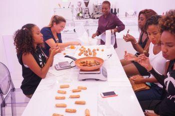 Les cours de pâtisseries à Gourmet Temptations / Surfside / Miami Beach