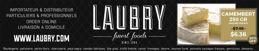 Laubry Finest foods, livraison d'épicerie, de produits fins à Miami et partout aux Etats-Unis
