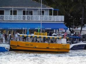 Les water taxis jaunes de Fort Lauderdale (Floride)