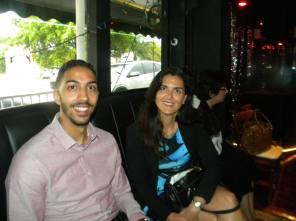 Mohamed Abouelfetouh et Patrizia Savoy Table ronde tourisme et Networking
