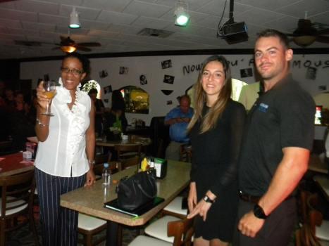 Natacha Delienne, Andrée-Ann Petitclerc, Thierry Laflamme Table ronde tourisme et Networking