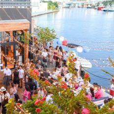 La Bastille Day Party de l'an passé à Seaspice Miami