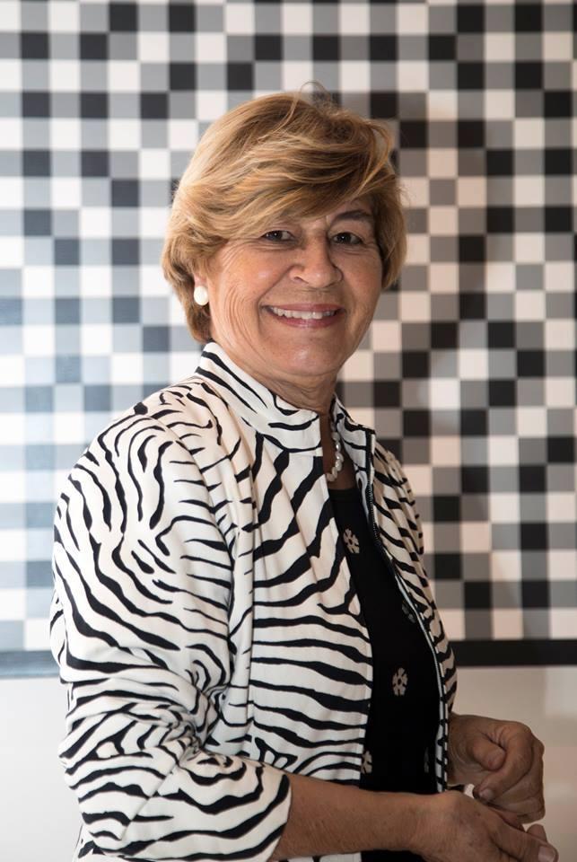 Geneviève Alix, présidente de l'association Miami-Accueil