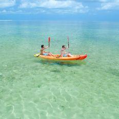 Kayak avec les excursions de Fury Waters sur les îles au large de Key West (Keys de Floride)