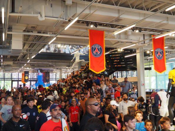 PSG Séance dédicace Miami